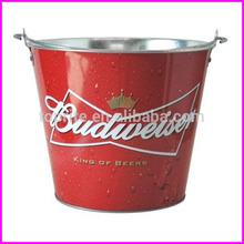 5L Colors Galvanized Beer Bucket