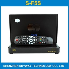 original f5s satellite tv receiver 5s gprs+wifi+cccam+youtube