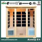 new mini dry far infrared home sauna cabin(KL-4SFV)
