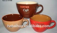 ceramics coffee cafe chocolate soup bowls