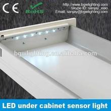 led under cabinet lighting china battery powered motion sensor led cabinet light
