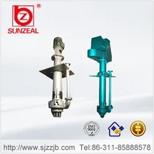 Industry mining &mineral slurry pump, competitive price for Mining Rubber Lined vertical centrifugal submersible slurry pump