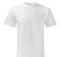 100 Cotton Bulk Wholesale White Price T Shirt