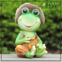 Small Cartoon Figurine, Animal Sculpture, Resin Animal Design