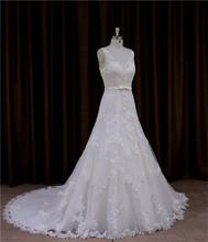Romantic burgundy princess real sample tulle column beaded bridal dress