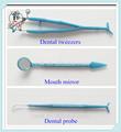 Dental descartável espelho sonda pinça 3 peça atacado
