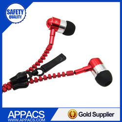 Guangdong new products of stereo headphones promotion metal earbud