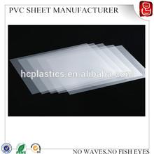 0.3mm PVC white inkjet printing sheet A4 pvc sheet