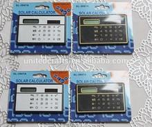 Promotional Plastic Calculator, Destop 8-Digit Solar Calculator, Dual Power Calculator