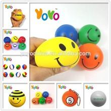 YOYO Customized Logo Promotion PU Stress Balls Walmart/Stress Balls