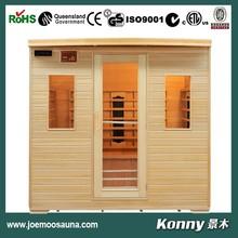 KL-5S wood indoor far infrared sauna room