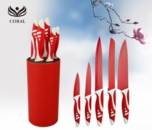 Professional Stainless Steel Kitchen Knife Set Non-stick Coating Knife