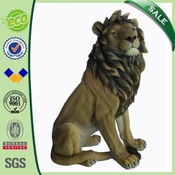 27 inch Home&Garden Decoration Sitting Lion