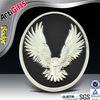 Custom die casting car badges chrome emblems