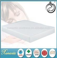 Roll up foam mattress with knitting fabric cover cheap foam mattress