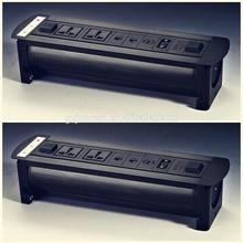 New design good price CE hidden electric power desktop socket