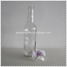 275ml clear empty glass beverage bottle