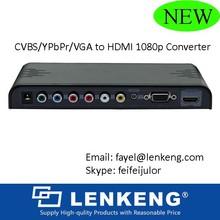 RGB to HDMI HD converter +AV+VGA Input