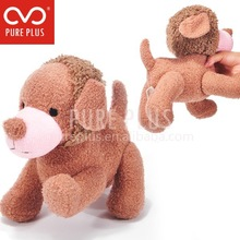 2015 brown plush dog toys.classical child toy.baby toys made in china.