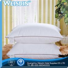 anti-snore fashion design yangzhou home made decorative latex pillow