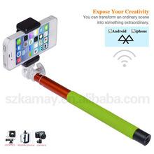 Fold good material monopod phone holder for cell phone