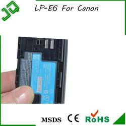 LP-E6 Battery For Canon 5D Mark III 5D Mark II 7D 60D 6D