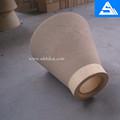 fogo de barro refratário bicos refratário tijolo tubos