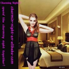 frill villus gauze sexy lingerie sex dress 637#