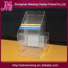 cakes acrylic display shelf, MX2750 acrylic cosmetic brush display case