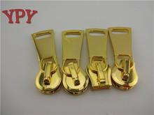 High Quality 15# Customized Gold Metal Zipper Slider
