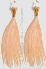 Qingdao best factory sale low price quality on high edge micro-ring human hair extensions