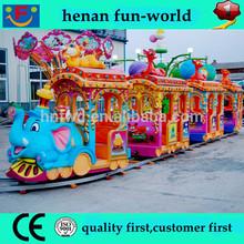 train track attraction!!! Amusement elephant track train for sale