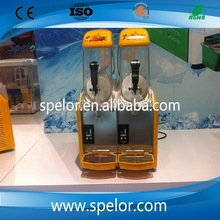 2014 high quality two tanks slush ice drink machine for sale