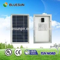 Bluesun top efficiency 25 years warranty sun power solar panel 5w