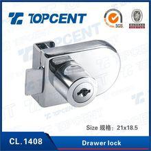 Nicety structure safe furniture sliding drawer locks