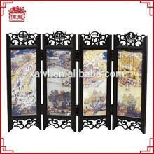 Restaurant decorative items hinges folding screen