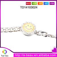 Expoxy glow in the dark jewelry changing charm bracelet