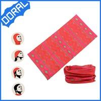 custom multi-purpose seamless tube muslim headwear men