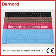 109 Keys Slim Flexible Portable Wireless Keyboard for Smart TV