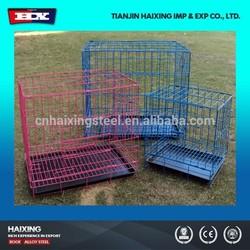 China Manufacturer Newest Folding Metal Dog Cage
