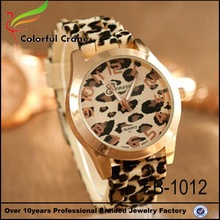 fashion cool cleaning rubber band watch silicone strap wholesale