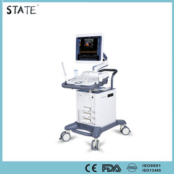 digital color doppler 3d trolley ultrasound machine with CE