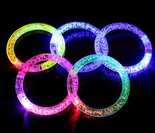 LED Flashing bracelet 100pcs/lot , light up bracelet , luminous bracelet,for bar,Halloween,Chiristmas
