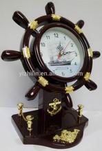 YL8270 Seagoing Vessel Quartz Table Clock