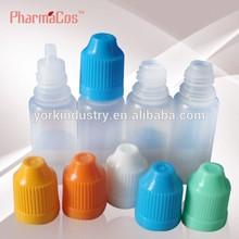 New design transparent body E-cigarette PE/PET bottle