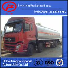 EURO4 dongfeng DFL tianlong FUEL TANK heavy 8x4 fuel tank truck 35000L