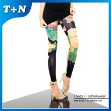 multi color elegant fitness compression leggings