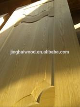 door skin 2.8mm / 3mm natural wood MDF door skin ash or teak color moulded door skin