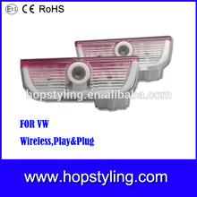 hot seller Factory Wholesale price led laser car logo light for VW,led laster logo light