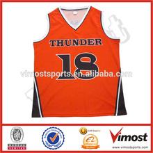 custom new design basketball jersey uniform